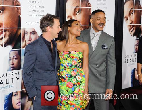 Edward Norton, Naomie Harris and Will Smith 3