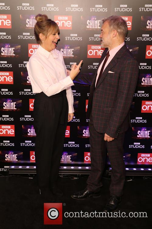Graham Norton and Mel Giedroyc 9