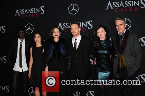 Michael Fassbender, Marion Cotillard, Michael K. Williams, Jeremy Irons and Essie Davis