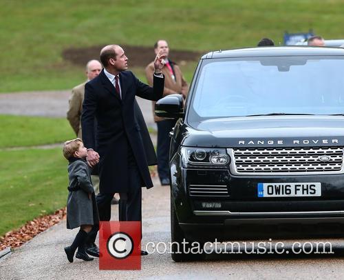 Prince William, Duke Of Cambridge and Prince George 2