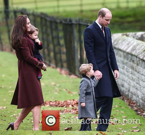 Prince William, Duke Of Cambridge, Catherine Duchess Of Cambridge, Kate Middleton, Prince George and Princess Charlotte 7