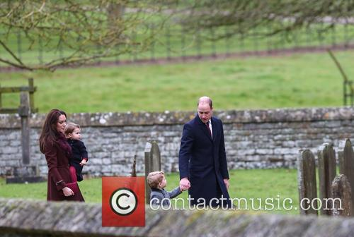Prince William, Duke Of Cambridge, Catherine Duchess Of Cambridge, Kate Middleton, Prince George and Princess Charlotte 8