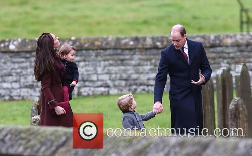 Prince William, Duke Of Cambridge, Catherine Duchess Of Cambridge, Kate Middleton, Prince George and Princess Charlotte 10