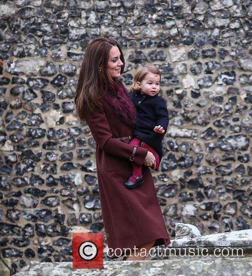 Catherine Duchess Of Cambridge, Princess Charlotte and Kate Middleton 1