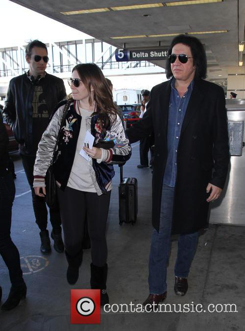 Gene Simmons, Nick Simmons and Sophie Simmons 3