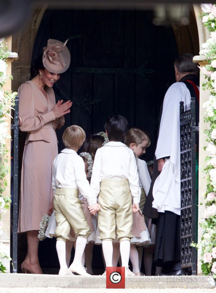 Catherine Middleton, Kate Middleton and Prince George