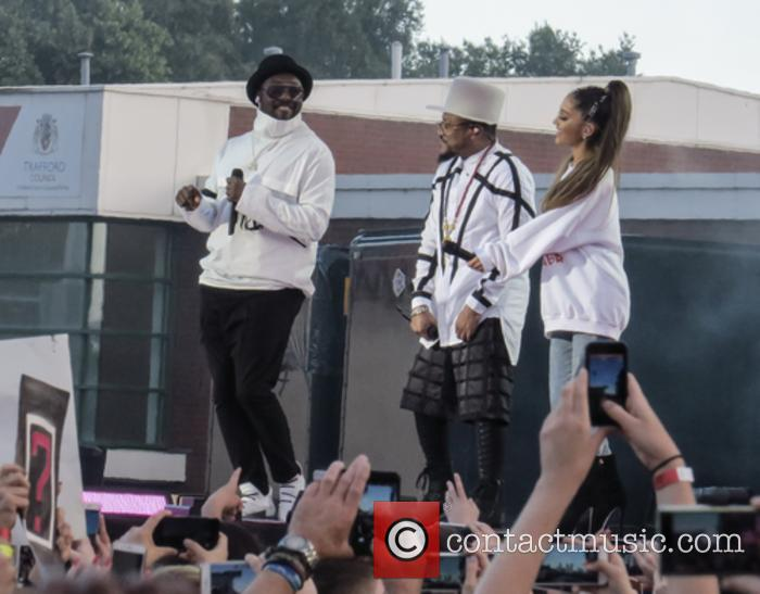 Will.i.am, Apl.de.ap and Ariana Grande