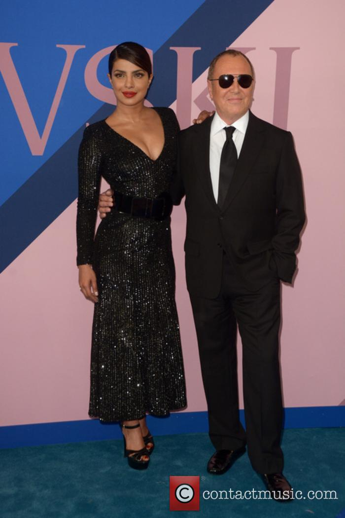 Priyanka Chopra and Michael Kors