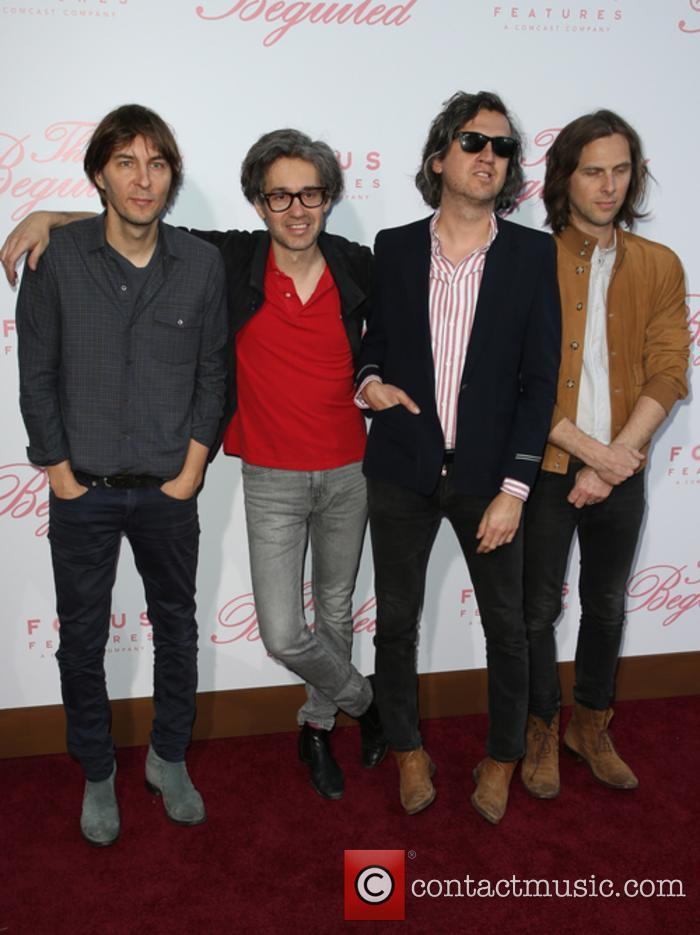 Phoenix, Thomas Mars, Laurent Brancowitz and Christian Mazzalai 1