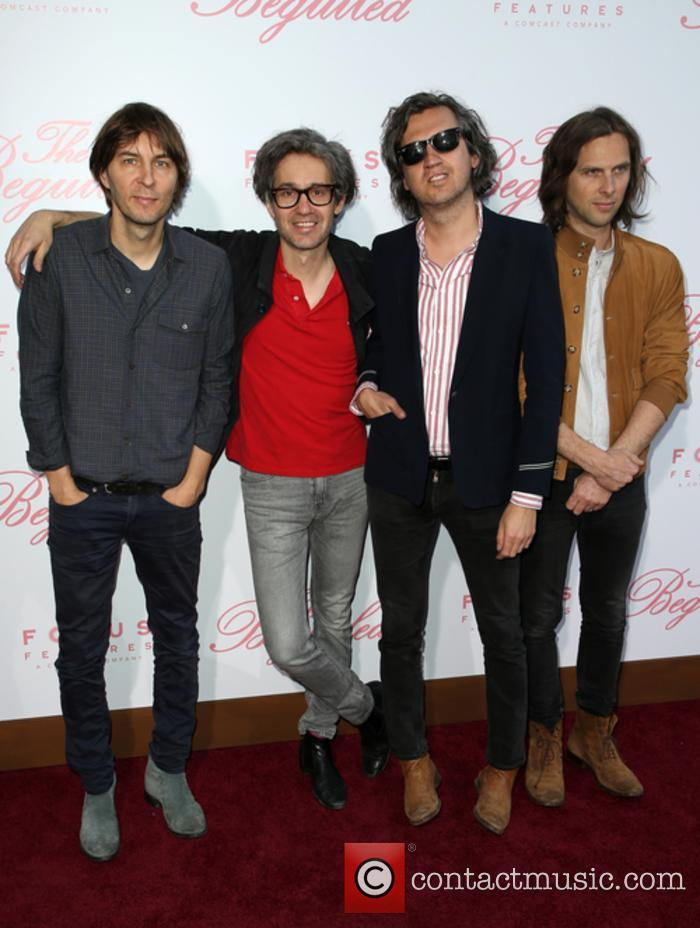 Phoenix, Thomas Mars, Laurent Brancowitz and Christian Mazzalai 2
