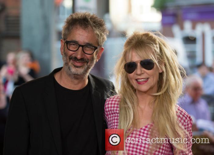 David Baddiel and Morwenna Banks 1