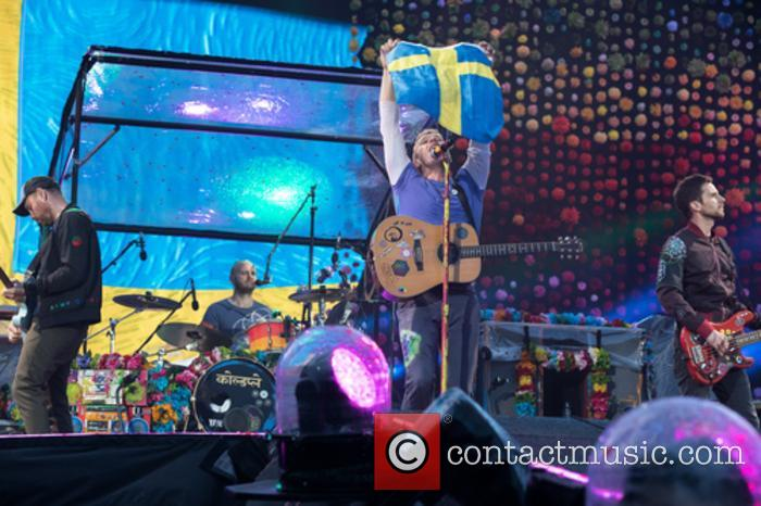Coldplay, Guy Berryman, Jonny Buckland, Will Champion and Chris Martin