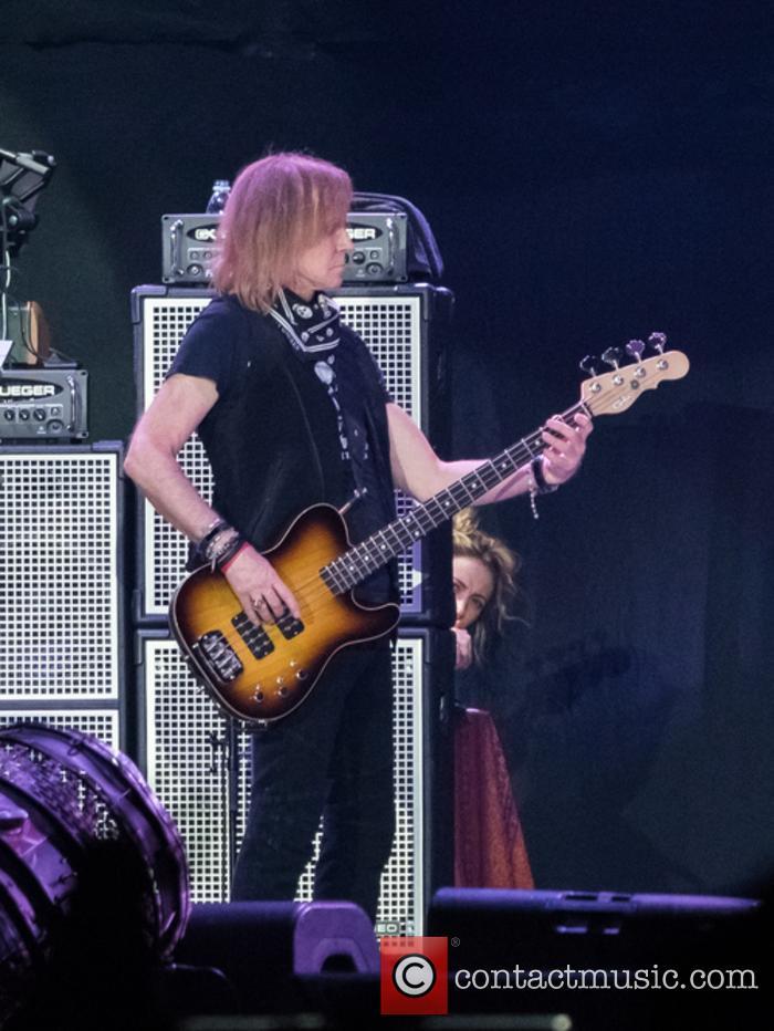 Aerosmith and Tom Hamilton