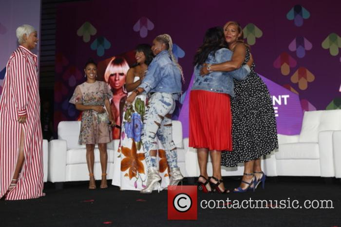 Monica, Jada Pinkett-smith, Niecy Nash, Mary J. Blige and Queen Latifah