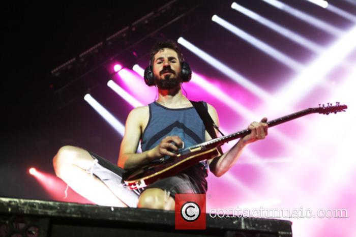 Brad Delson and Linkin Park