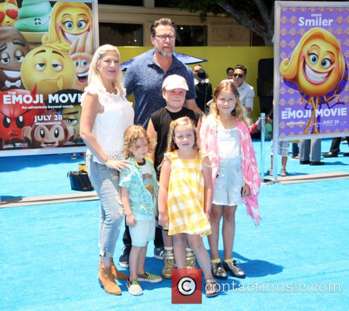 Tori Spelling, Dean Mcdermott and Family