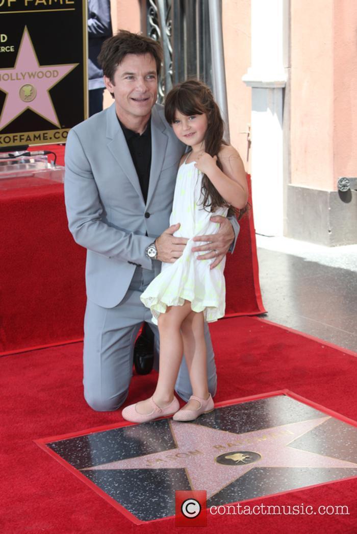 Jason Bateman and Maple Sylvie Bateman 2