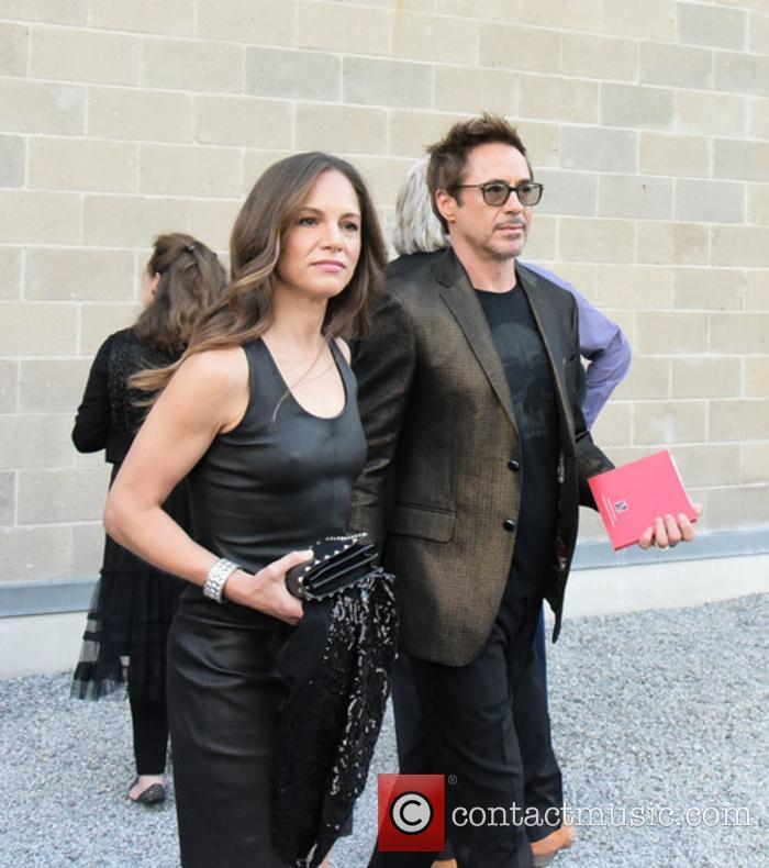 Susan Levin and Robert Downey Jr.