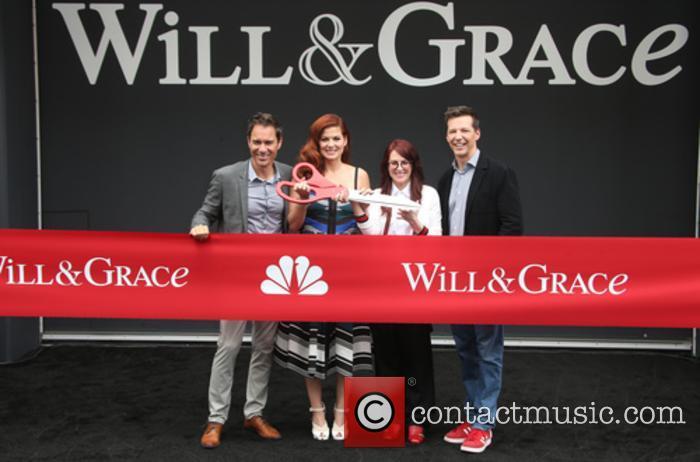 Eric Mccormack, Debra Messing, Megan Mullally and Sean Hayes 2