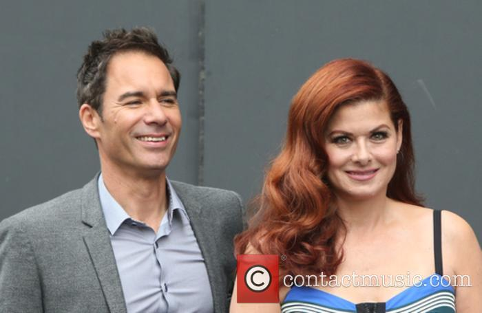 Eric Mccormack and Debra Messing 3