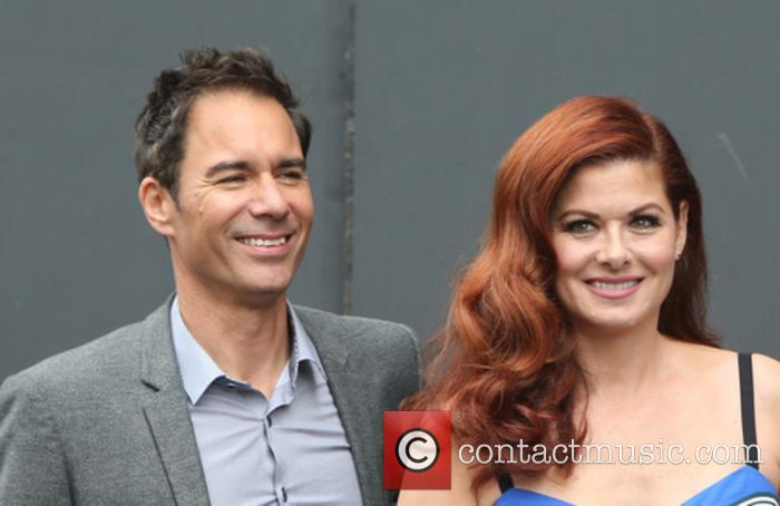 Eric Mccormack and Debra Messing 4
