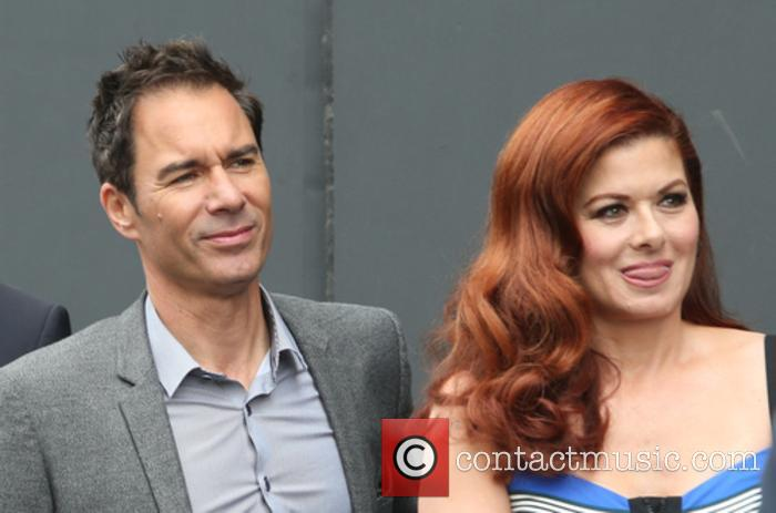 Eric Mccormack and Debra Messing 5