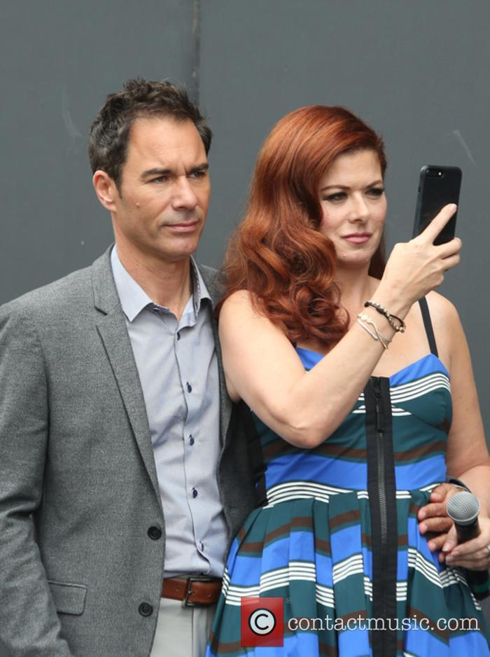 Eric Mccormack and Debra Messing 6