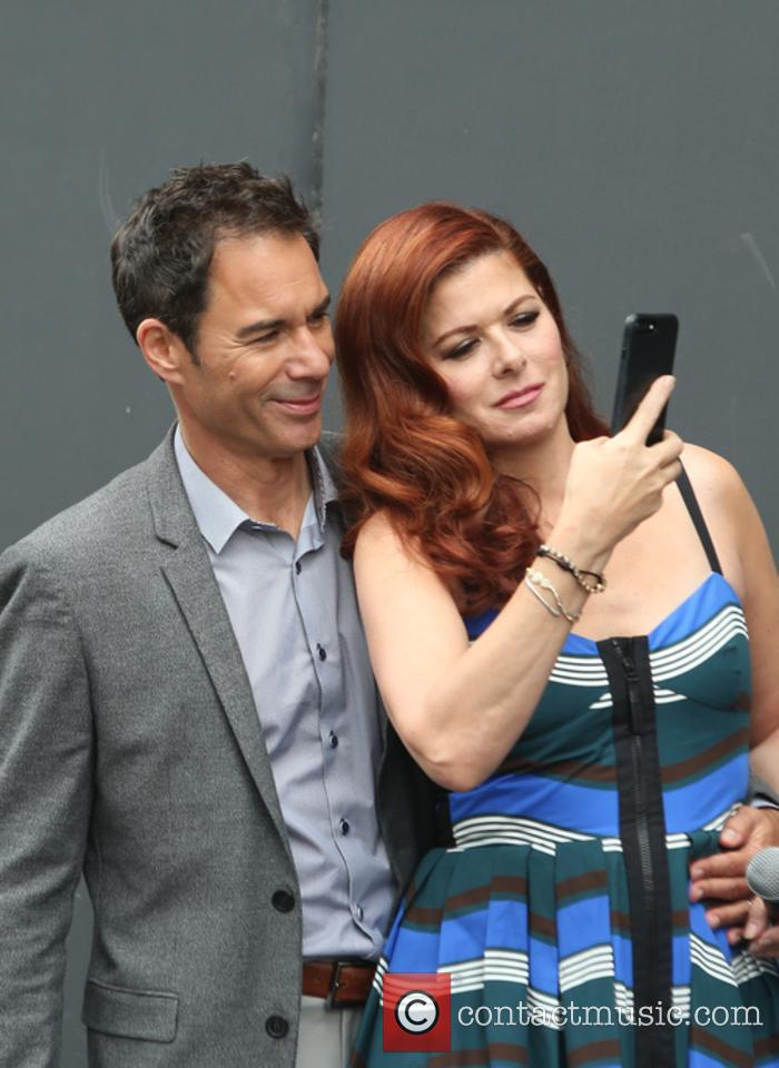 Eric Mccormack and Debra Messing 7