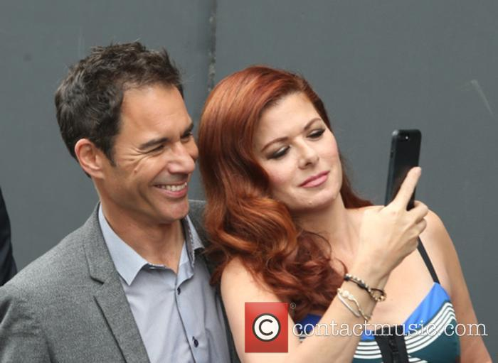 Eric Mccormack and Debra Messing 8