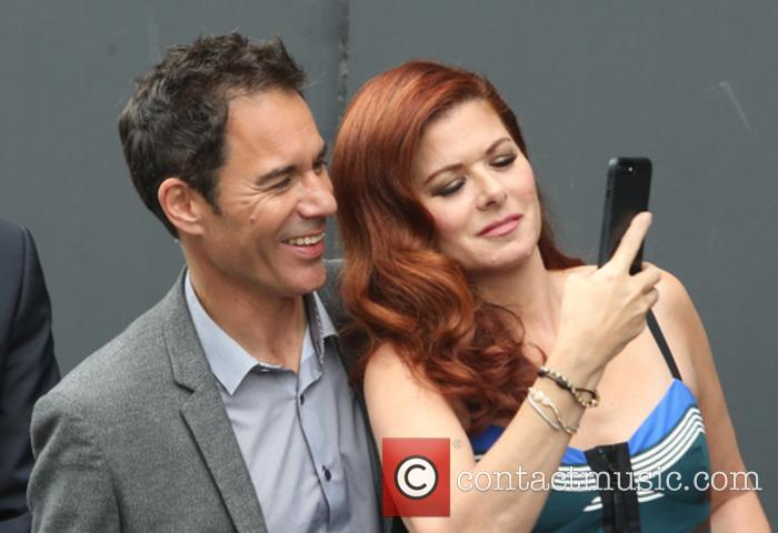 Eric Mccormack and Debra Messing 9