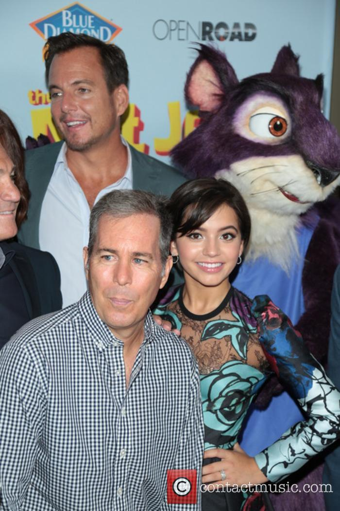 Will Arnett and Isabela Moner 2