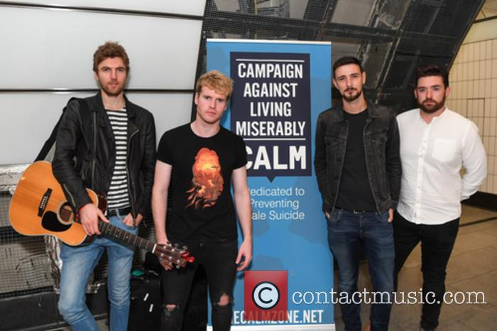 Kodaline, Steve Garrigan, Vinny May, Jr., Jason Boland and Mark Prendergast