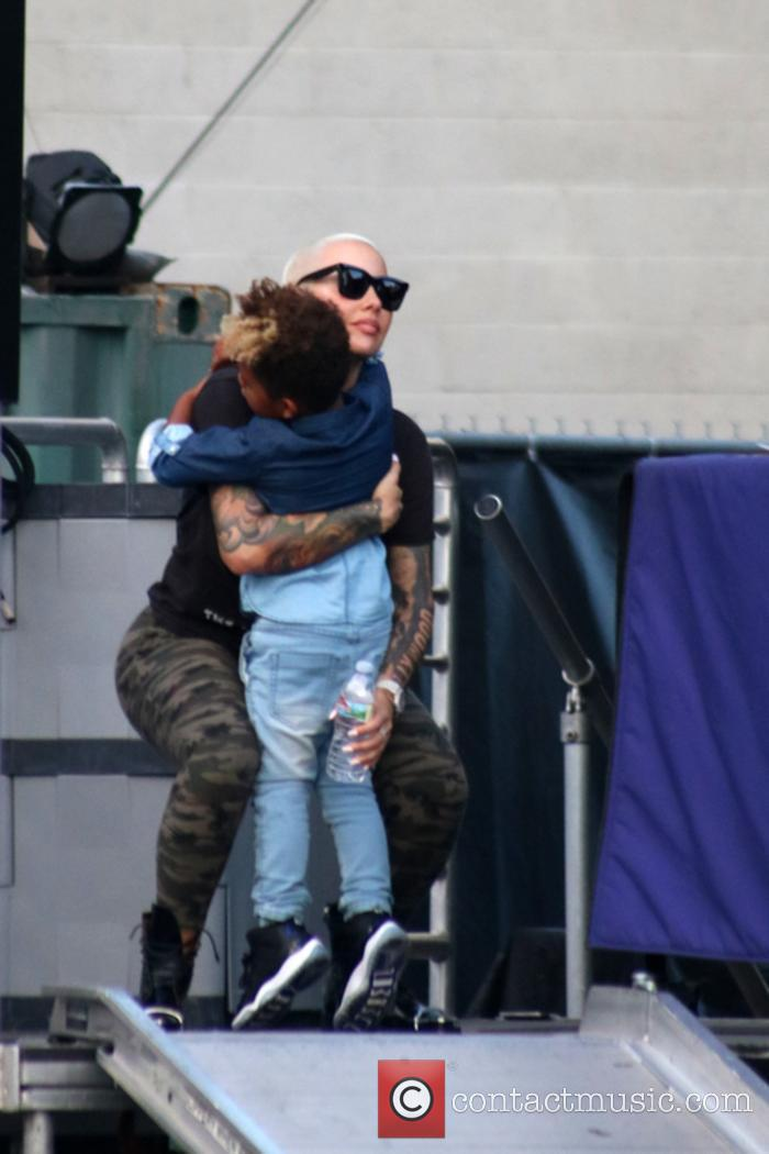 Amber Rose and Sebastian Taylor Thomaz 7