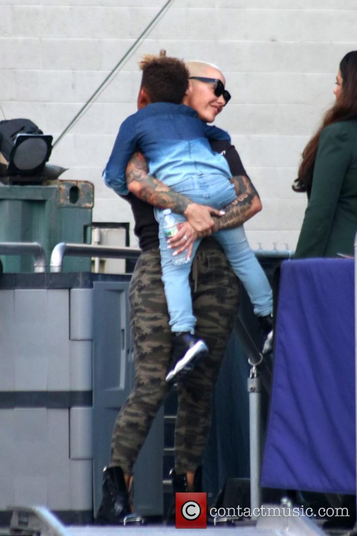 Amber Rose and Sebastian Taylor Thomaz 11