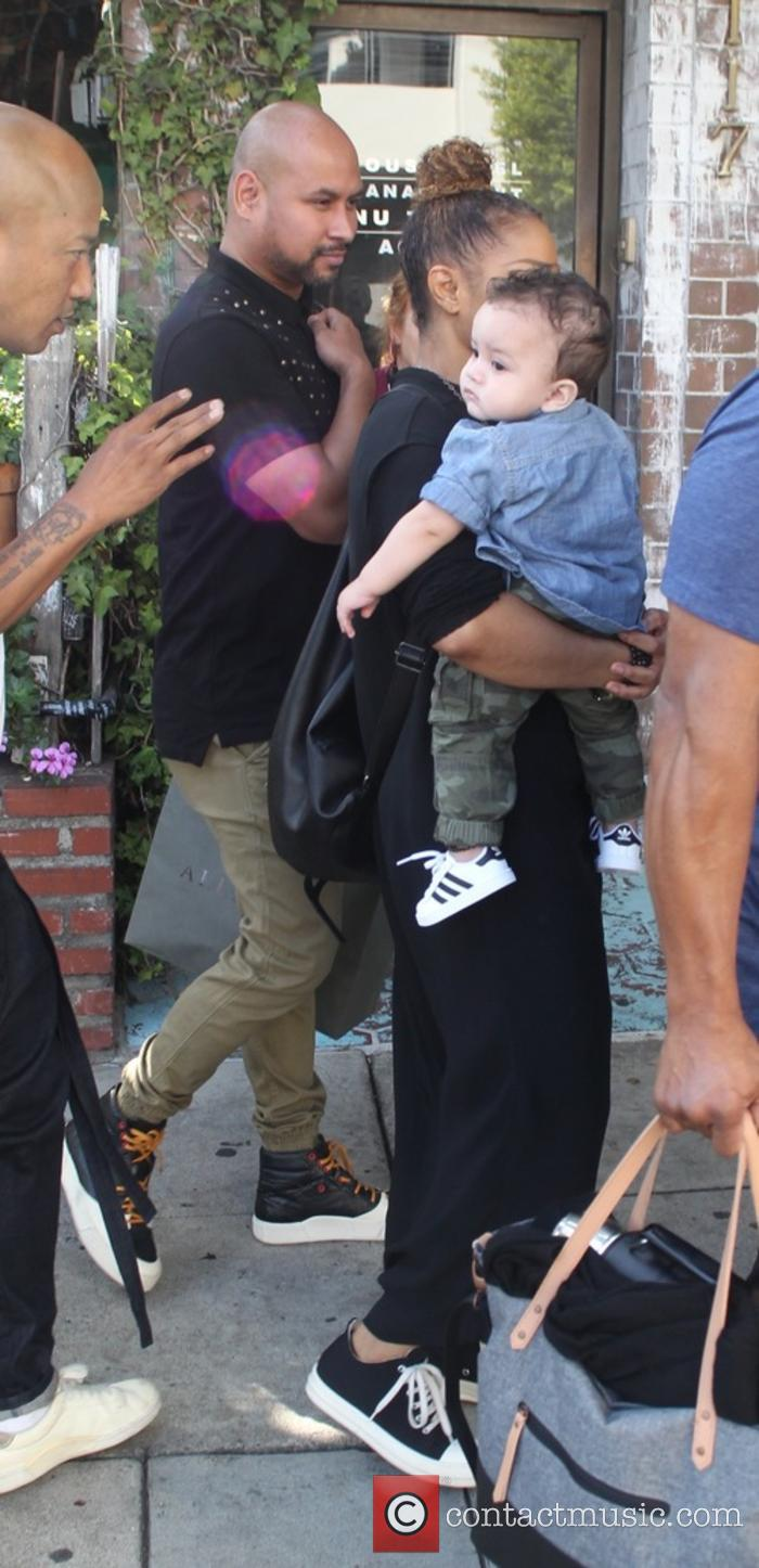 Janet Jackson, Eissa Al Mana and Preston Meneses 7