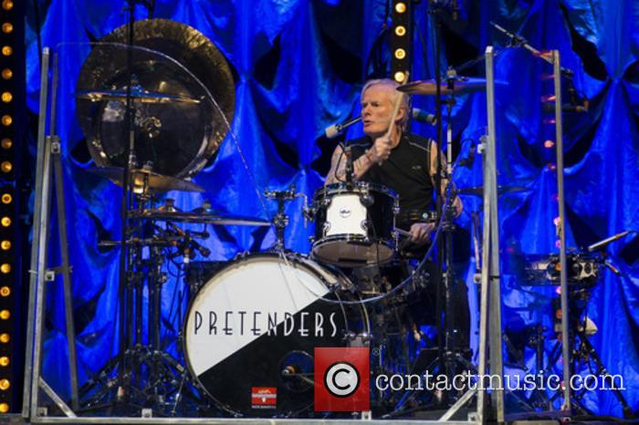 The Pretenders and Martin Chambers 1