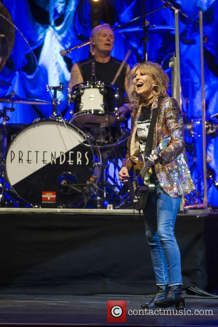 The Pretenders, Martin Chambers and Chrissie Hynde 6