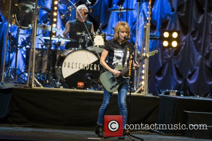 The Pretenders, Martin Chambers and Chrissie Hynde 11