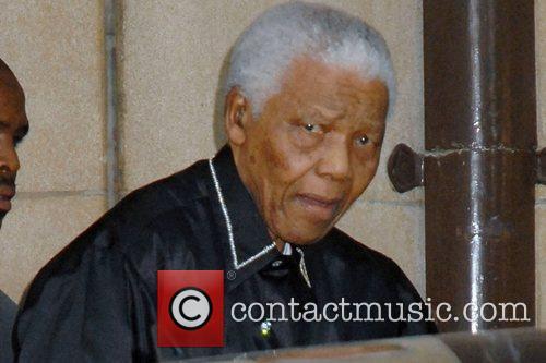 Nelson Mandela and Dorchester Hotel