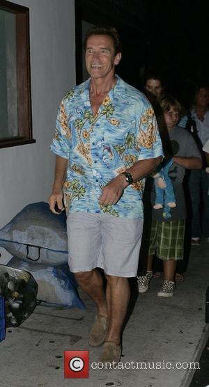 Schwarzenegger Returns To Home City