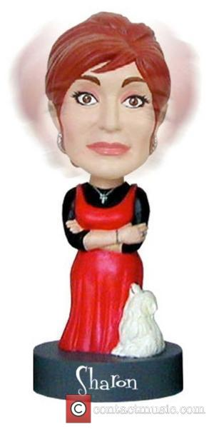 Sharon Osbourne is immortilised as a bobblhead as part of Network Signatures new merchandising line    WENN, Sharon...