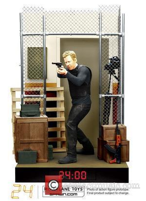 * KIEFER'S BAUER BECOMES AN ACTION FIGURE JACK BAUER has been downsized - for a new range of 24 action...