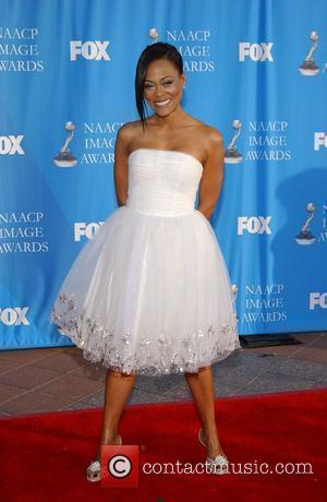 Robin Givens The 39th NAACP Image Awards held at the Shrine Auditorium - Press room  Los Angeles, California -...