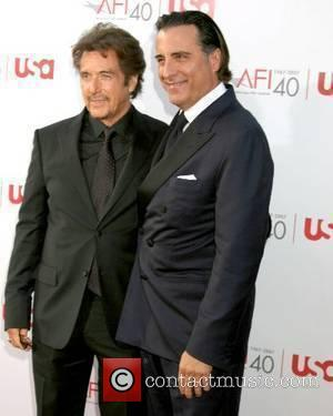 Al Pacino & Andy Garcia 35th AFI Life Achievement Award held at The Kodak Theatre - Arrivals held at The...