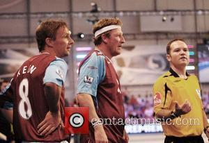 Geoff Bell at the Premier League All Stars event - West Ham United vs Wigan Athletic. London, England - 28.09.07
