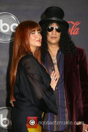 Slash and Guest 2007 American Music Awards held at the at the Nokia Theatre - Arrivals Los Angeles, California -...