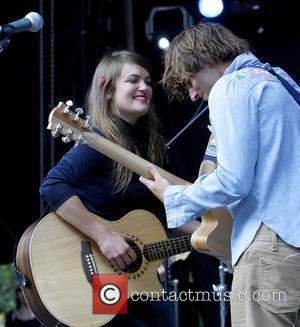Angus & Julia Stone, Julia Stone Perform Live At Homebake 2007, Australia's Annual Outdoor Music Festival For 'homegrown' Bands and Held At The Domain.