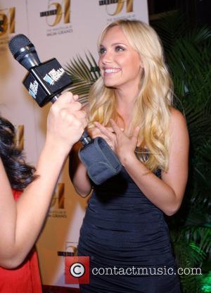Ashley Hartman Hosts Custo Barcelona Fashion Show at Studio 54, MGM Grand Hotel Casino,  Las Vegas, Nevada - 07.08.07