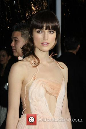 Knightley Is Too Self-conscious For Premieres