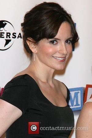 Tina Fey 2008 Tribeca Film Festival Opening Night - World Premiere of 'Baby Mama' at Ziegfeld Theatre New York City,...
